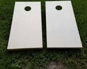 High Quality Unfinished Cornhole Board Set