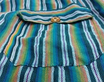 Colorful Artisan Ecuador Beach Pants
