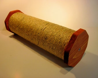 """Horizontal cat scratching post 15"""" X 4.5. You select the stain"""