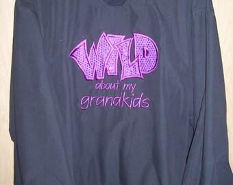 Wild about my Grandkids Windshirt