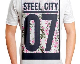 Steel City 07 | Mens Floral Print