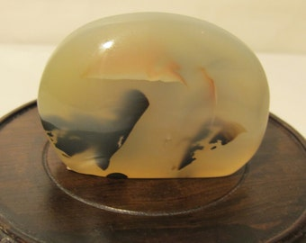 Natural Colored  Agate  (Colored  on  Both side )