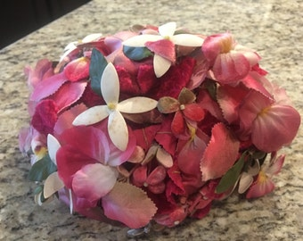 Vintage flower hat by Amy New York