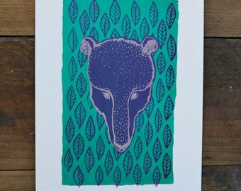 Original Screenprint - Bear