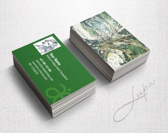 Arbonne Business Cards 05 - digital files supplied only