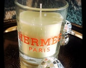 Hermes inspired 3oz candle