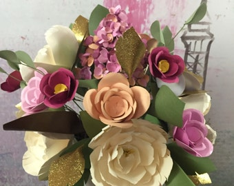 Paper Flower Arrangment
