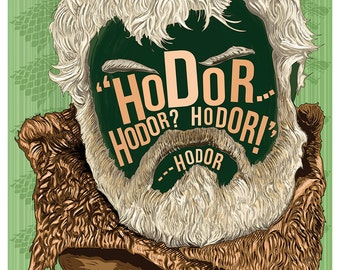 Famous Hair / LInes: Hodor