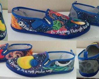 Galaxy Shoes- Women's