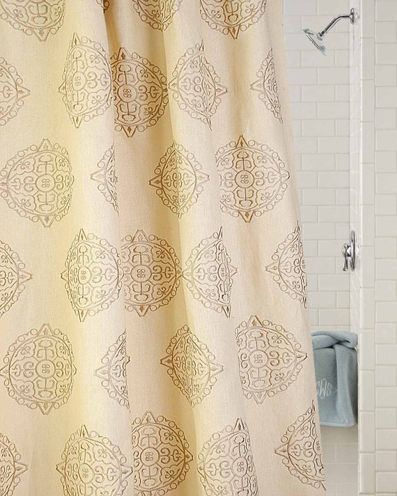 Gold Toned Natural Organic Linen Or Hemp With By Bharatusaltd