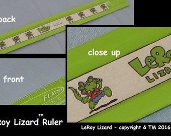 LeRoy Lizard Ruler