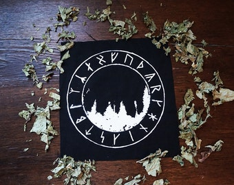 Forest Rune Back Patch