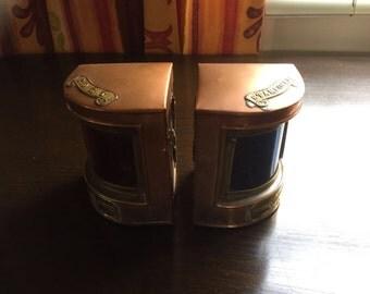 Vintage Copper Nautical Lamps