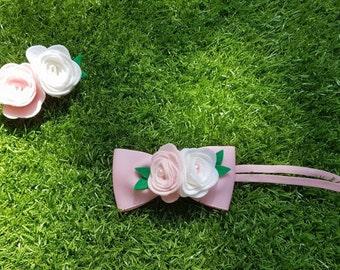 Flower bow & headbands