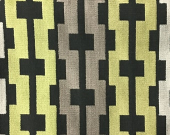 Upholstery Fabric - Piccadilly - Grass - Cut Velvet Home Decor Upholstery & Drapery Fabric by the Yard - Available in 13 Colors
