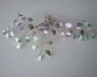 Wedding bridal hair jewelry hair pins flower 3 St. elegant handmade