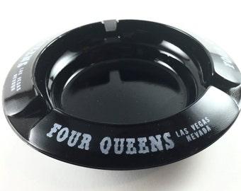 Vintage Four Queens Las Vegas Hotel Ashtray