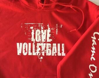 LOVE Volleyball Sweatshirt