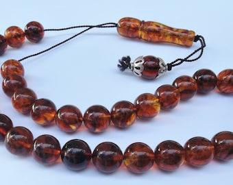 Baltic Amber Prayer Beads Komboloi