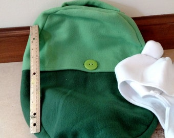 Finn's Backpack and Matching Hat