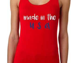 Made in the USA Tank Top