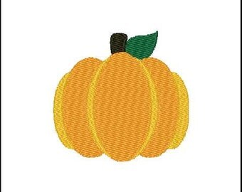 Fill Embroidery Design, Pumpkin, Thanksgiving, File, Digital, Download, Machine