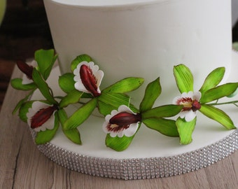Sugar flowers, unconventional, wedding, events, gift, flower paste, Handarbet, decoration