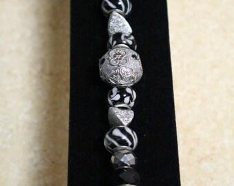 Silver sparkle bracelet