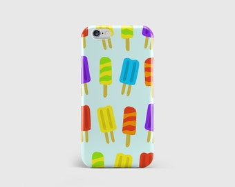 Ice Lolly iPhone Case | Indie Kids Pattern | Fun Summer Pattern | Kids Print Case | iPhone 7 case, iPhone 6 case, iPhone 5 case \ hc-pp155