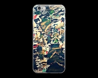 iPhone Forrest Fire Phone Case by Essence Bennett