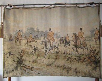 Tapestry - English Hunting Scene