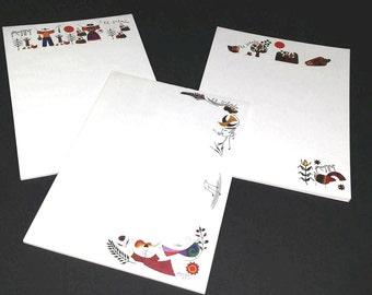 Libretas de Papel con Diseños Fernando Llort / Note Pads with Fernando Llorts designs