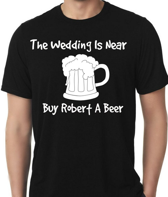 Wedding shirt bachelor party beer mug the by for Custom t shirt design near me
