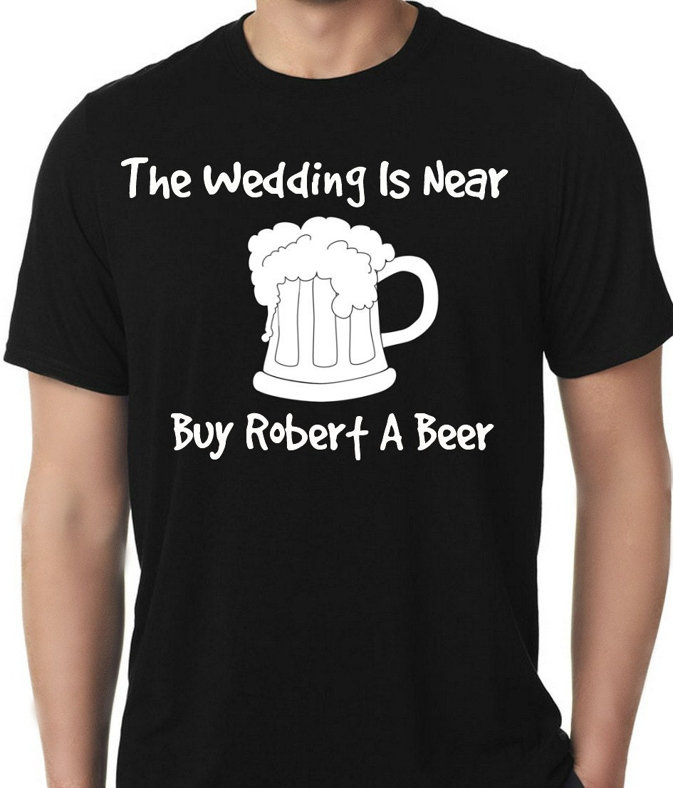 Wedding shirt bachelor party beer mug the by for Custom t shirt store near me