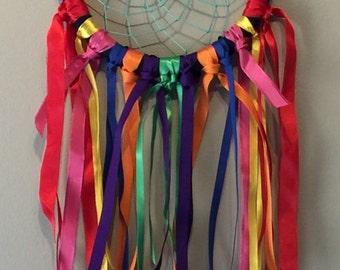 Dreamcatcher rainbow large