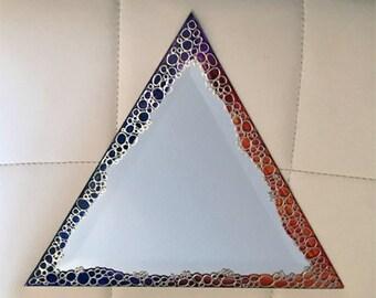 Triangle Mirror Etsy