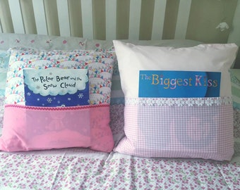Story Cushion for girls