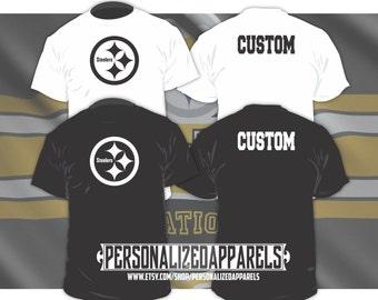Pittsburgh Steelers Custom Shirt PERSONALIZED