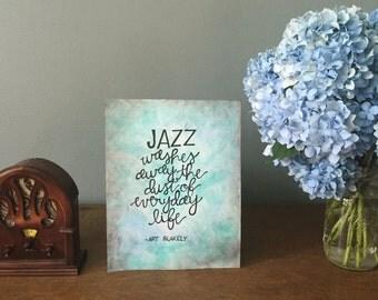 Jazz Watercolor
