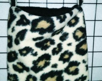 Cheetah print sleep pouches