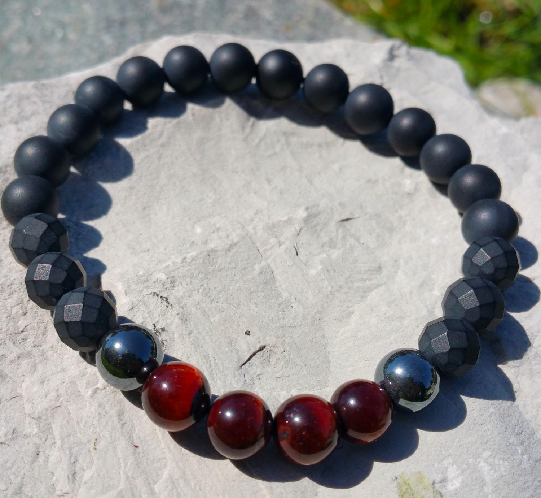 Red Hematite Beads Strength Courag...