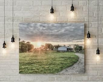 Kentucky Sunset, Kentucky Print,  Landscape Photography, Downloadable, Wall Art Prints, Wall Art Large, Wall Decor Art Print
