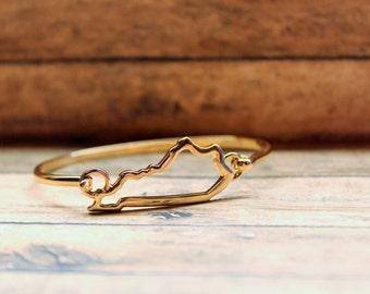 Gold Kentucky Bracelet