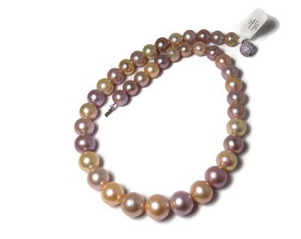 Muti Color Fresh Water Pearl Necklace