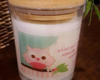 Baby Girl Nursery Candle