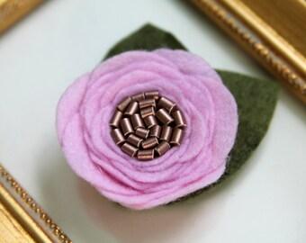 Helena Felt flower headband    Flower headband    Nylon headband    Baby headband    One size fits all (baby - adult)    bowemmgee