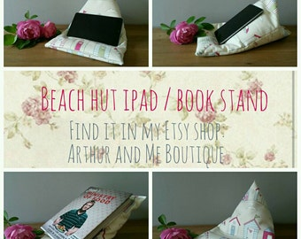 Ipad / tablet / book stand - beach huts
