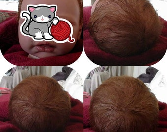 Custom hair rooting service for Reborn Baby Dolls