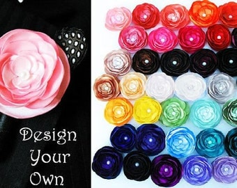 Design your own Boutonniere- 36 Colors