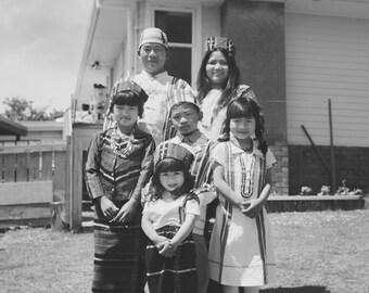 Portrait of Lucas & Family #2 of 100 - LARGE - UNFRAMED